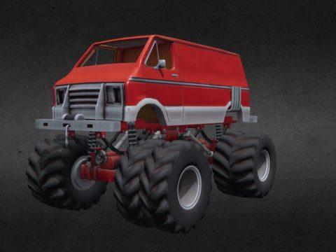 Lunchbox Monster Truck