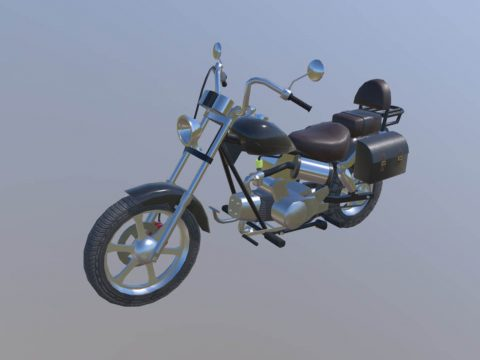 Moped, motorcycle