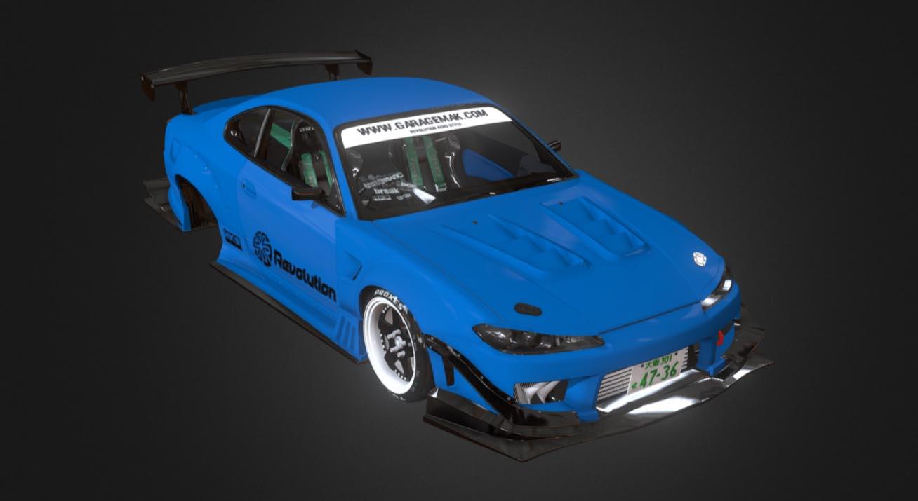 Nissan Silvia S15 Crew