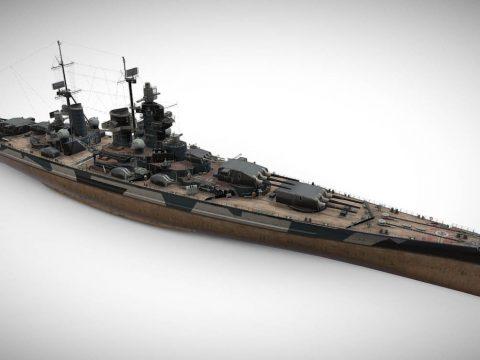 Odin - Tier VIII German Premium Battleship