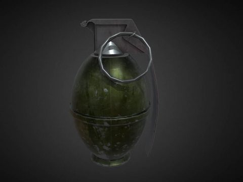 RE2 Remake M26 Frag Grenade Preview L4D2