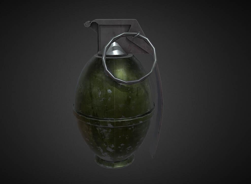 RE2 Remake M26 Frag Grenade Preview L4D2