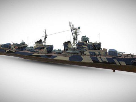Siliwangi - Tier VIII Premium Pan-Asian Destroye