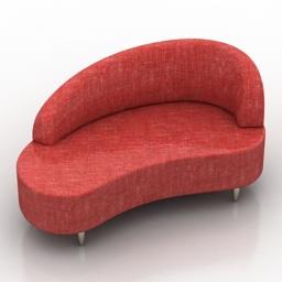 Sofa Ontario Dream Land 3d model