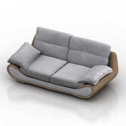 Sofa Satis New Zealand 3d model