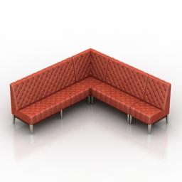 Sofa royal DLS 3d model