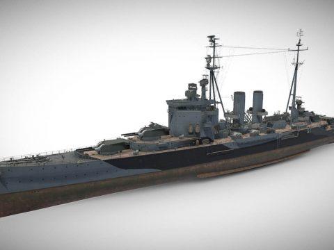 Surrey - Tier VII British Heavy Cruiser