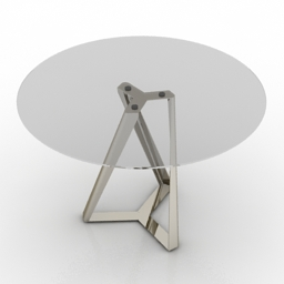 Table Bontempi Millenium 3d model