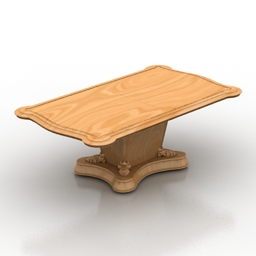 Table Italy 3d model