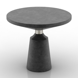 Table Nicole ocassional table Stuart Scott 3d model