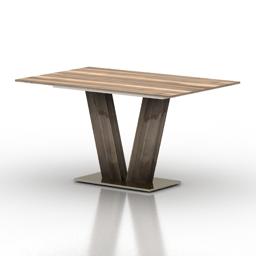 Table Pranzo EMPIRE 3d model