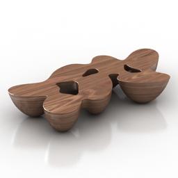 Table Quark by Emmanuel Babel 3d model