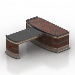 Table Vicente zaragoza Praga art 3d model