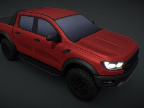 2019 Ford Ranger Raptor CIVIL (Cities Skylines)