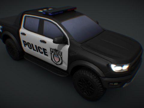 2019 Ford Ranger Raptor POLICE (Cities Skylines)