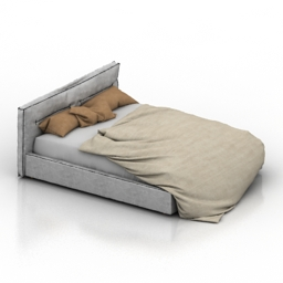 Bed Poliform 3d model