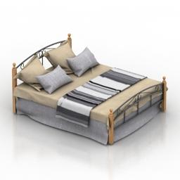 Bed Tetchair 3d model