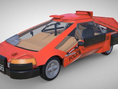 Blade Runner Deckard's Sedan