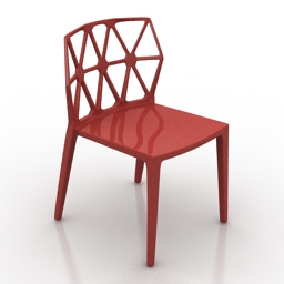 Chair Archirivolto Alchemia 3d model