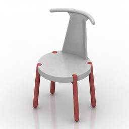Chair Branca-Lisboa Viva 3d model