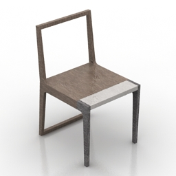 Chair Branca Lisboa 3d model