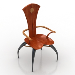 Chair lenox workshops joseph graham 3d model