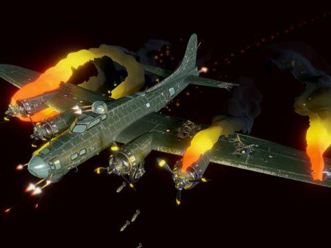 Crash of a B-17