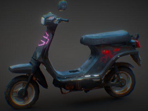 Derbi DS-50 Scooter