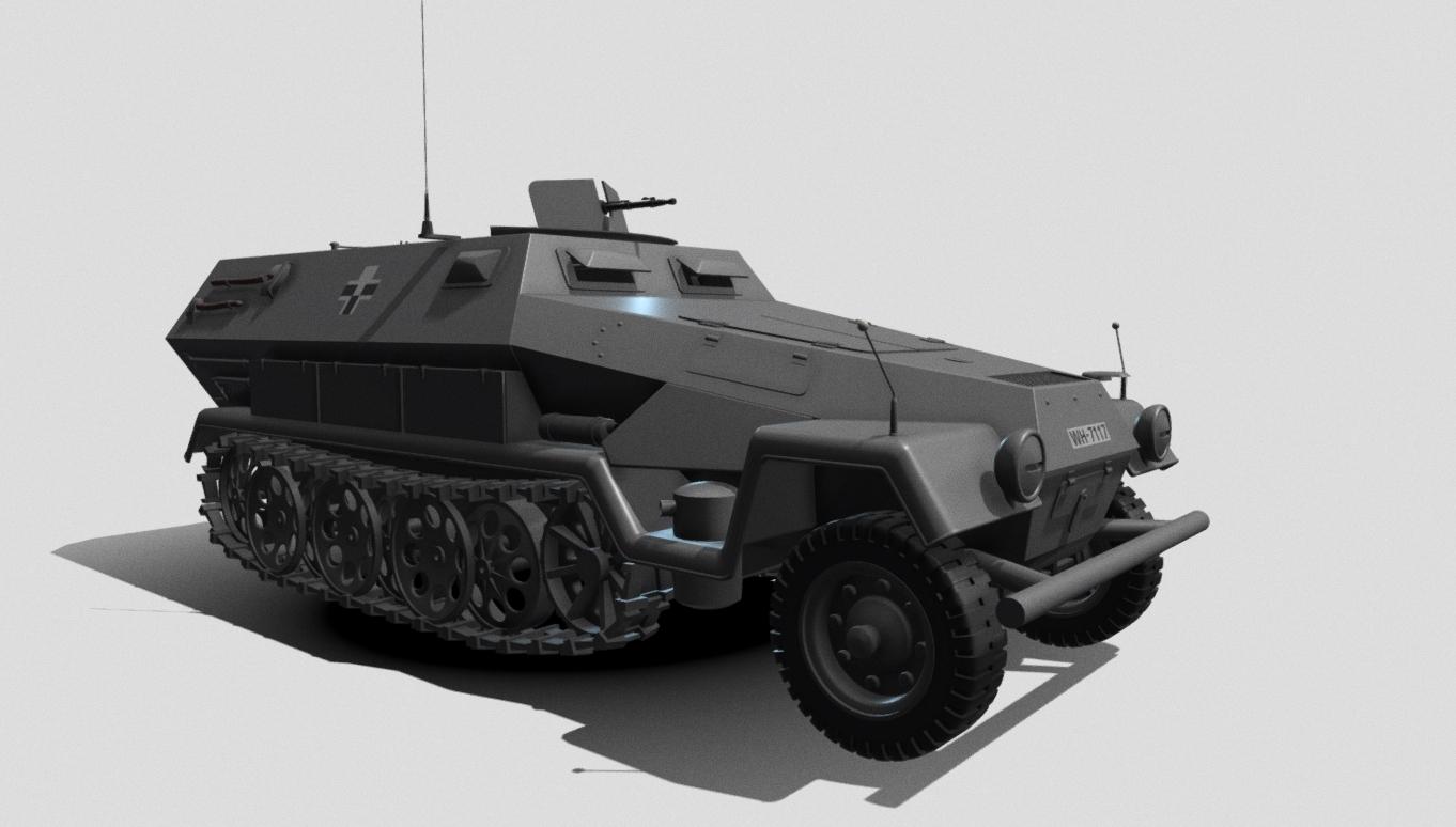 Hanomag Sd Kfz 251
