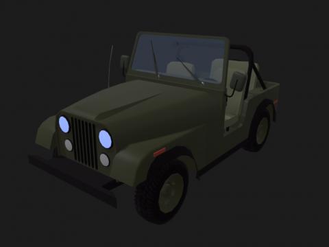 Jeep Detalization Detalyzed