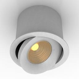 Lamp DL18412 01TR White 3d model