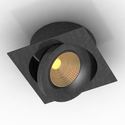 Lamp DL18412 01TSQ Black 3d model