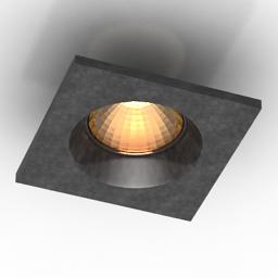 Lamp DL18412 3d model