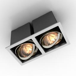 Lamp DL18485 3d model