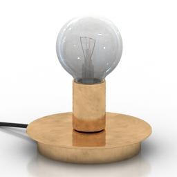 Lamp Dot 3d model