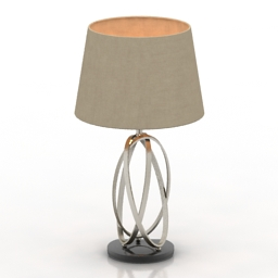 Lamp Midhurst Metal Lamp LauraAshley 3d model