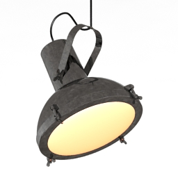 Lamp Projecteur 165 pendant 3d model