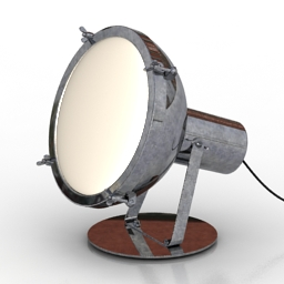 Lamp Projecteur 365 floor 3d model