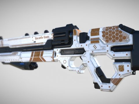 Sci-fi -LaserGun - GameReady