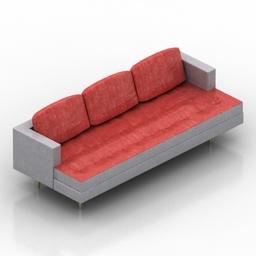 Sofa Dunbar Formdecor 3d model