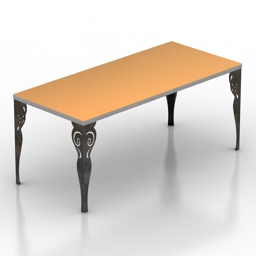 Table Cortezari 3d model