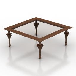 Table Giovanni Sforza Aida 3d model