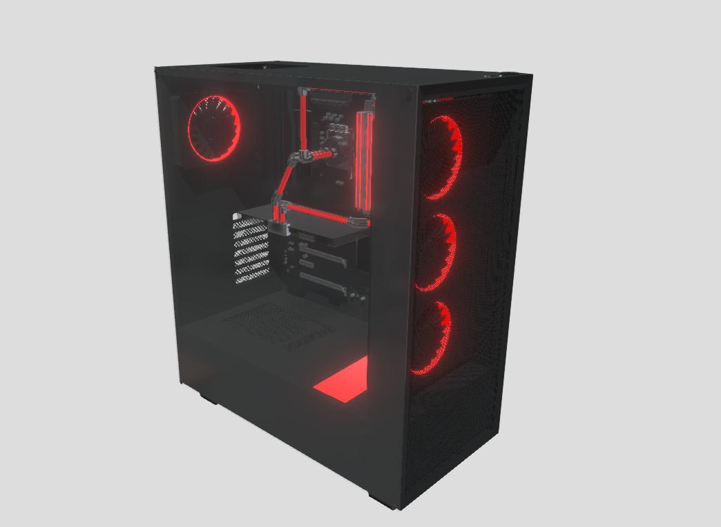 Watercooled Computer