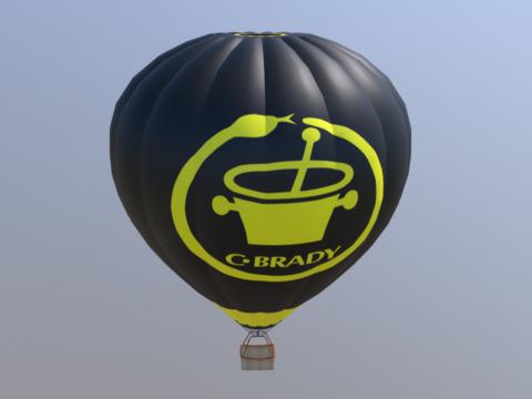 Hot air balloon OE-SOX