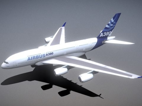 A380 With A380Plus Winglet
