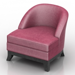 Armchair Ammi Dantone home 3d model