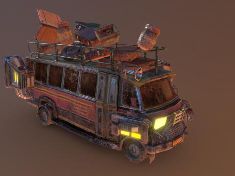 Autobus Africaland Mars