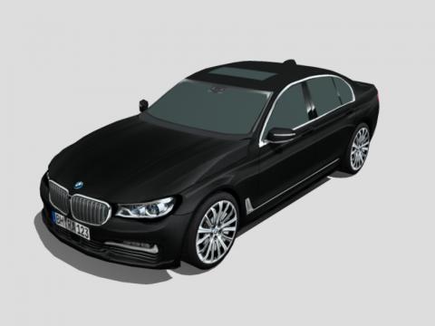 BMW 3D car model