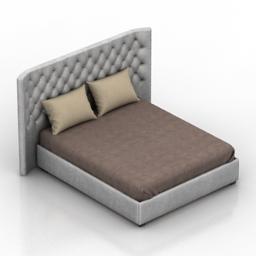Bed Bredford Dantone home 3d model