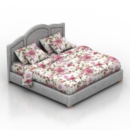 Bed Sanderlend Dantone home 3d model